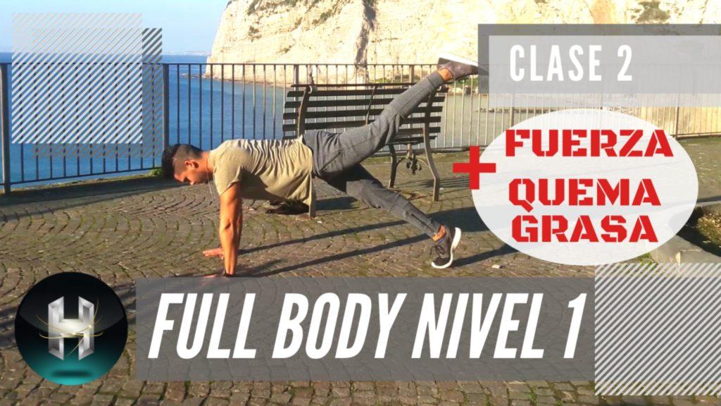 Rutina de ejercicios full body 12