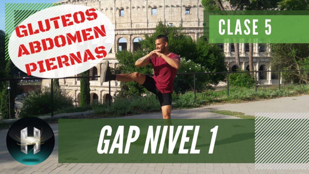 Rutina de ejercicios gap 15