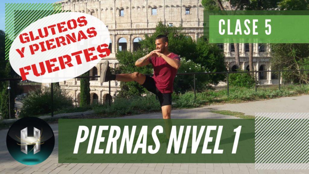 Rutina de ejercicios piernas 15