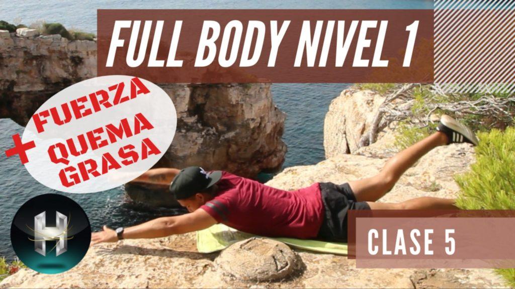 Rutina de ejercicios full body 15