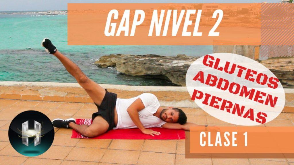 Rutina de ejercicios gap 21