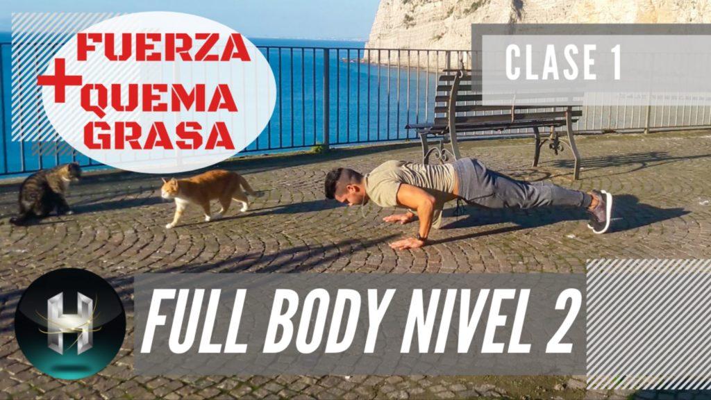 Rutina de ejercicios full body 21