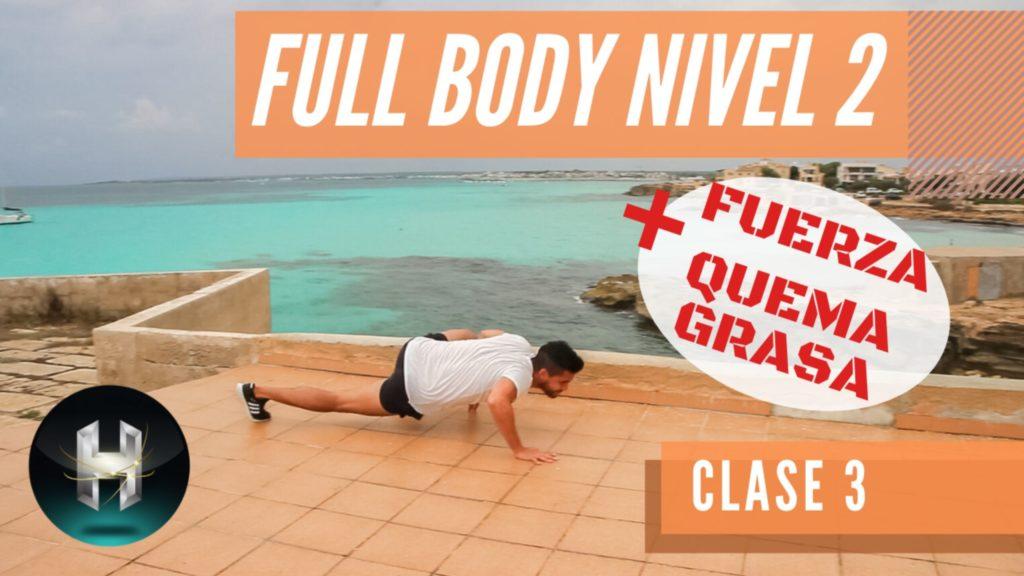 Rutina de ejercicios full body 23