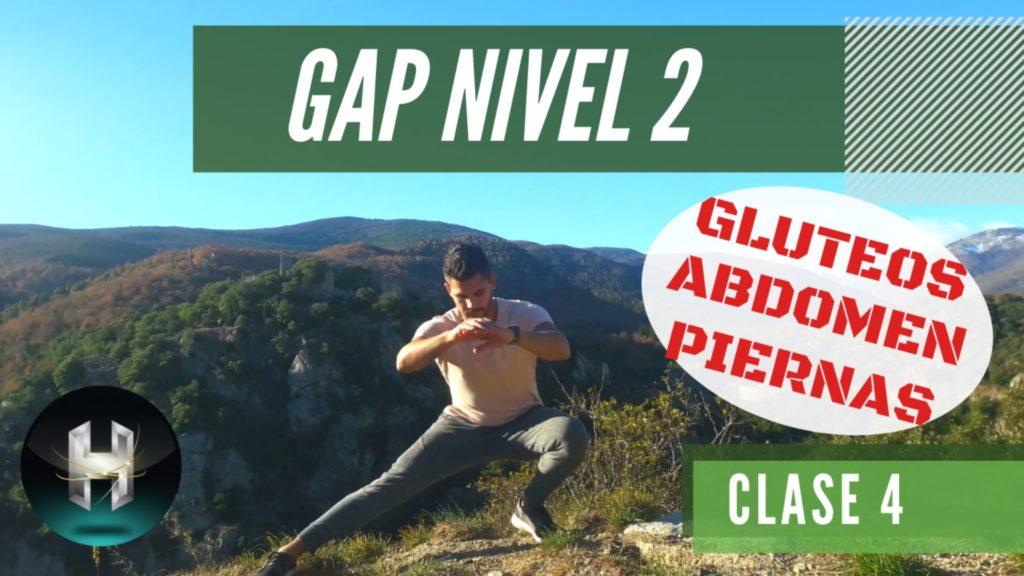 Rutina de ejercicios gap 24