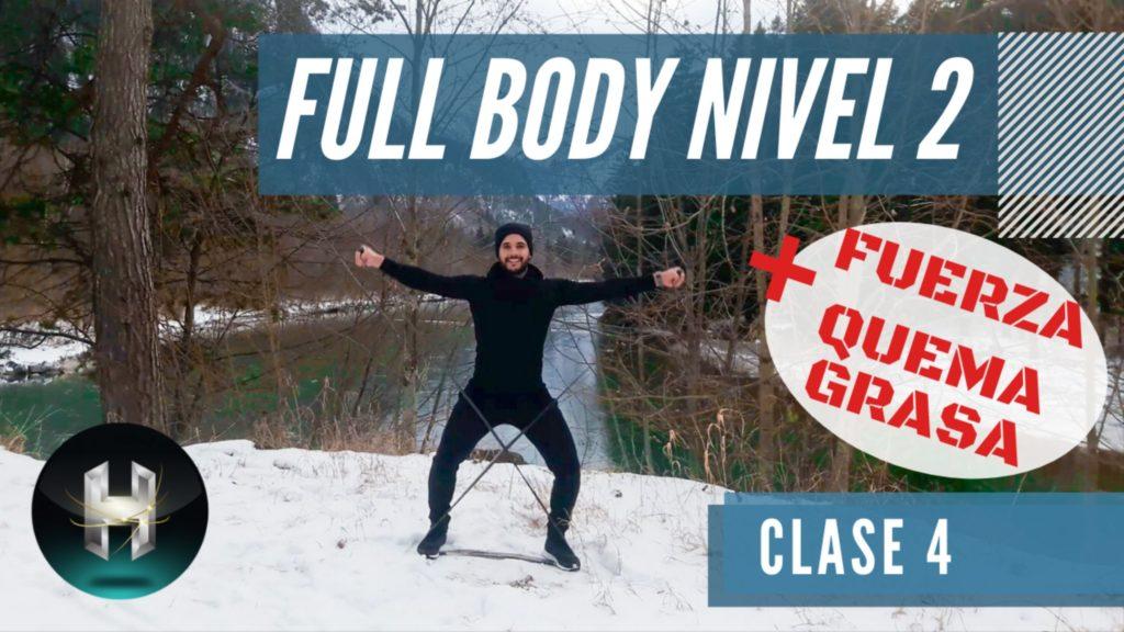 Rutina de ejercicios full body 24