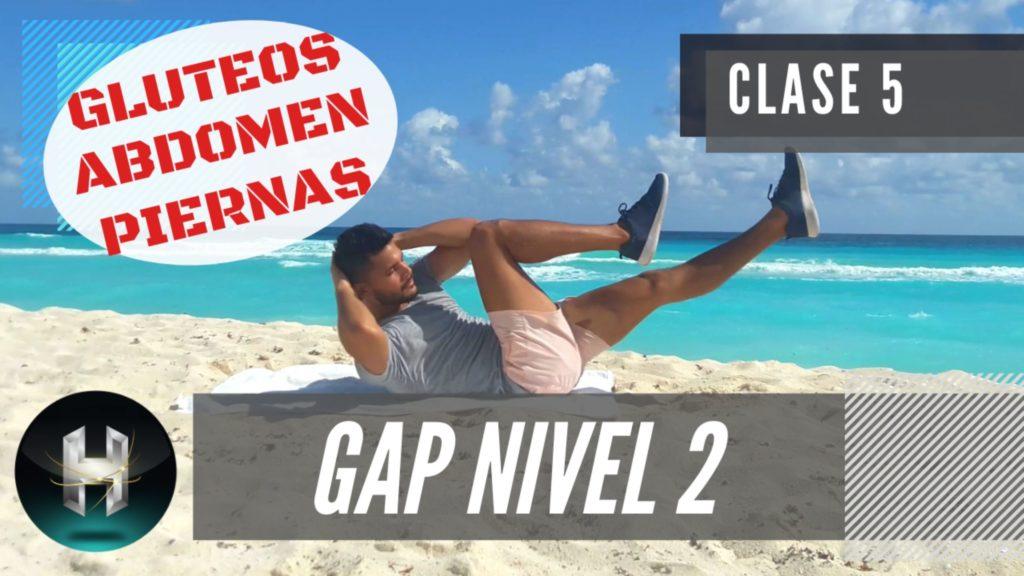 Rutina de ejercicios gap 25