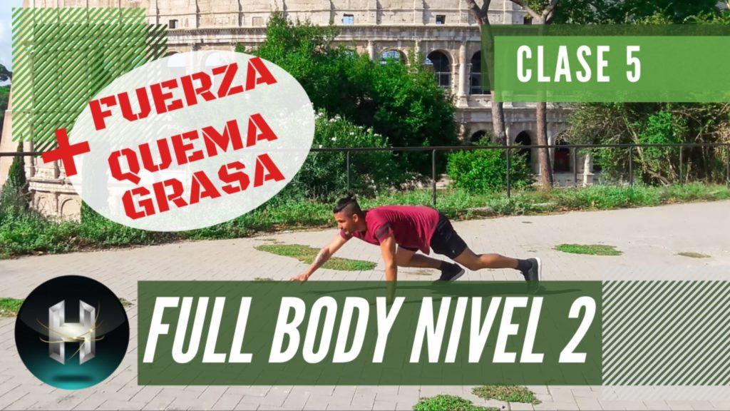 Rutina de ejercicios full body 25
