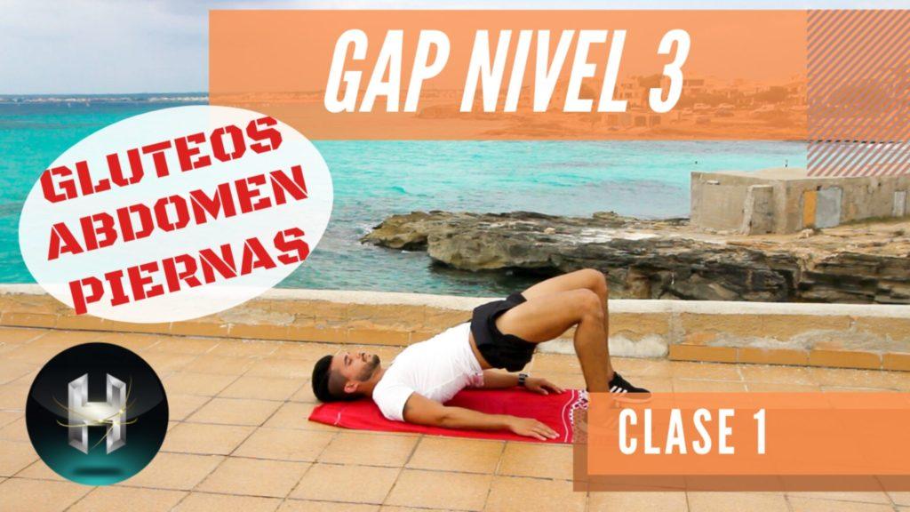 Rutina de ejercicios gap 31