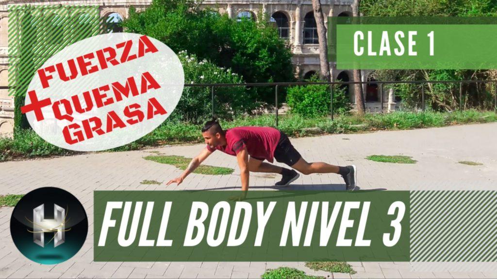 Rutina de ejercicios full body 31