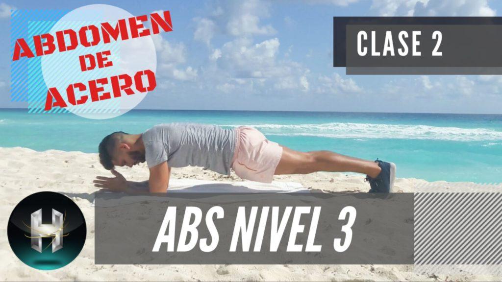 Rutina de ejercicios ABDOMEN PLANO 32