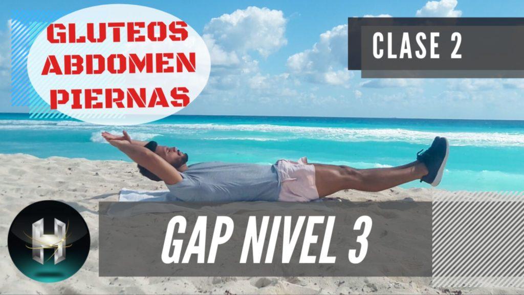 Rutina de ejercicios gap 32