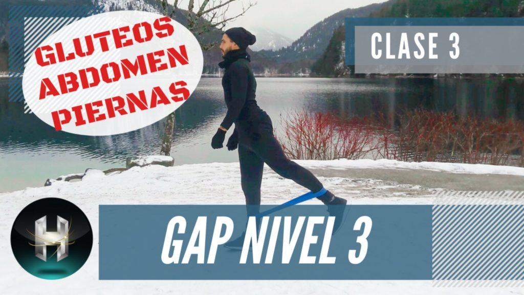 Rutina de ejercicios gap 33