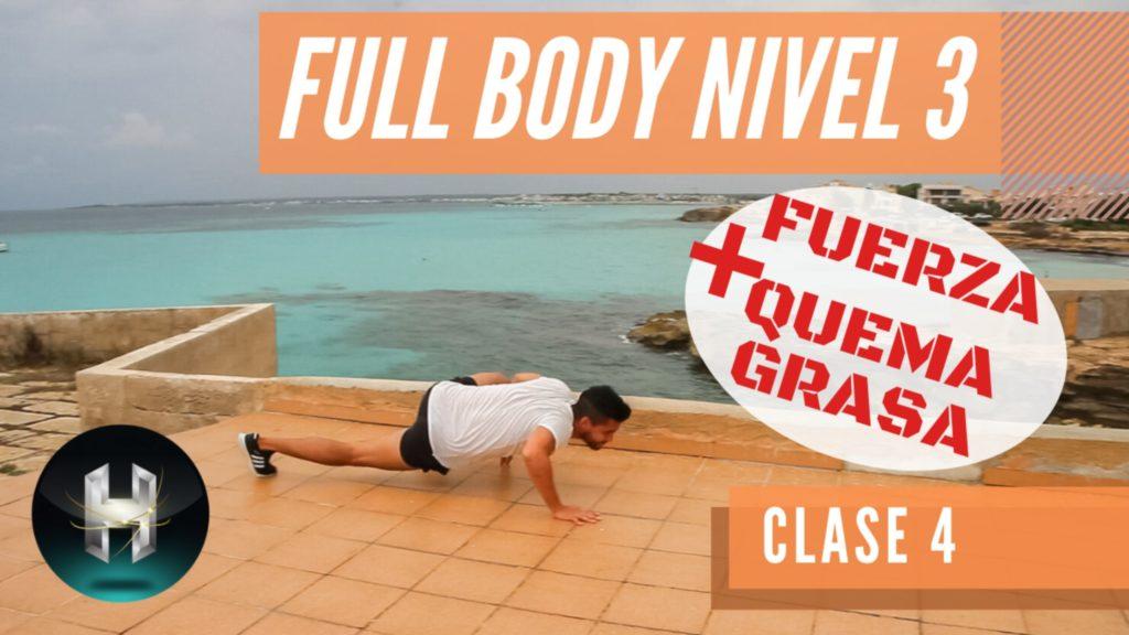 Rutina de ejercicios full body 34