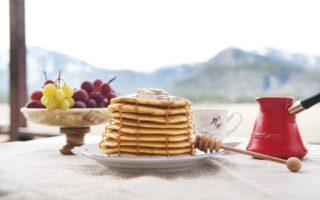 pancakes proteicos banana