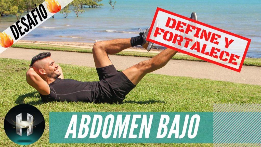 ejercicios abdomen bajo