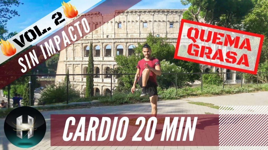 rutina cardio 20 minutos