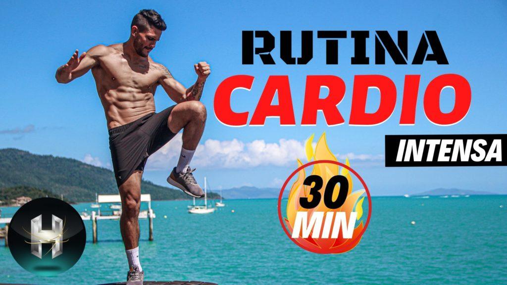 Rutina cardio 30 minutos