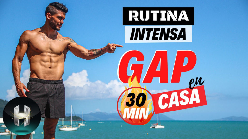 rutina gap intenso 30 minutos